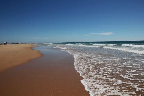 Playa de Castilnovo en Conil de la Frontera