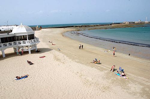La Caleta - The 5 best beaches in Cadiz