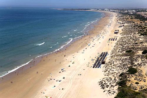 La Barrosa - The 5 best beaches in Cadiz