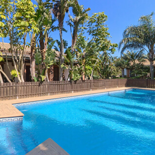 Swimming pool of Hacienda Roche Viejo- Accommodation Flamenco Villas in Conil